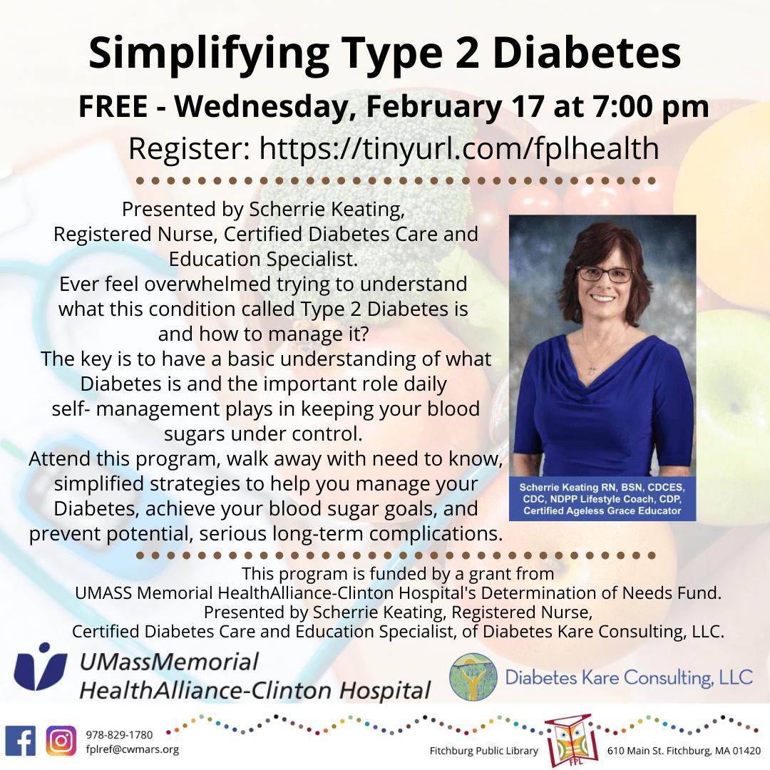 Simplifying Type 2 Diabetes