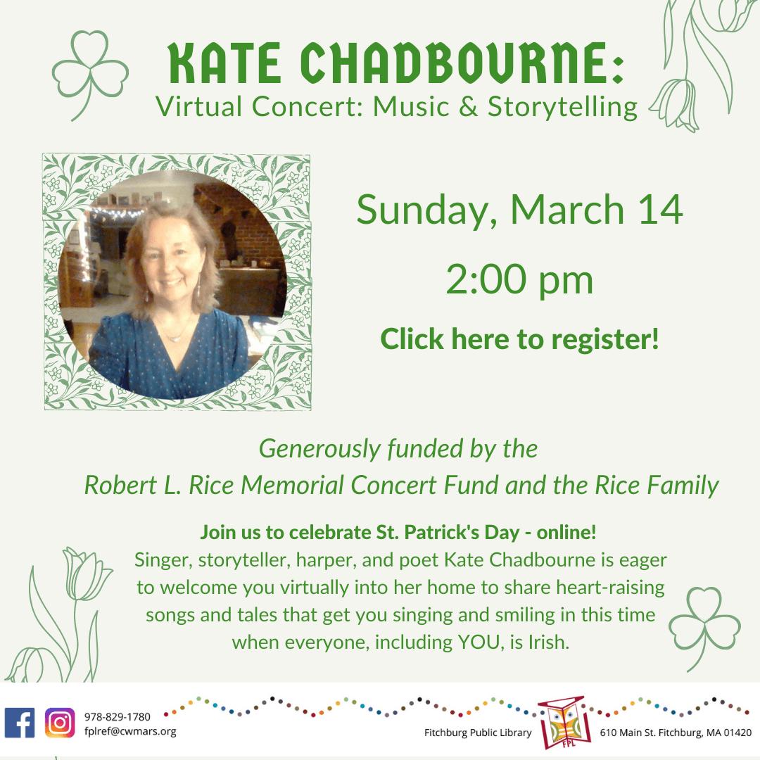 Kate Chadbourne Virtual Concert
